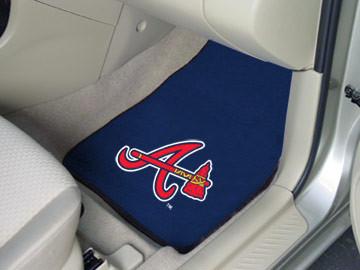 Atlanta Braves Carpet Floor Mats