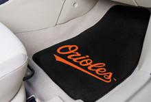 Baltimore Orioles Carpet Floor Mats