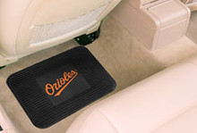Baltimore Orioles Rear Vinyl Floor Mats
