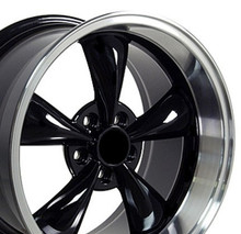 "17"" Fits Ford - Mustang Bullitt Wheel - Black 17x10.5"