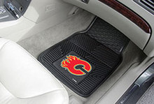Calgary Flames Vinyl Floor Mats