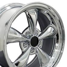 """17"""" Fits Ford - Mustang Bullitt Wheel - Chrome 17x8"""