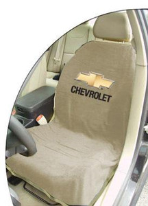 Chevrolet Tan Car Seat Cover Towel Armour