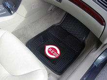 Cincinnati Reds Heavy Duty 2-Piece Vinyl Floor Mats