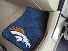 Denver Broncos Carpet Floor Mats