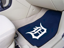 Detroit Tigers 2-piece Carpeted Floor Mats
