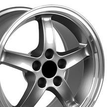 "17"" Fits Ford - Mustang Cobra R Wheel - Gunmetal 17x9"