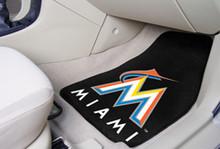 Miami Marlins Carpet Floor Mats