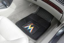 Miami Marlins VInyl Floor Mats