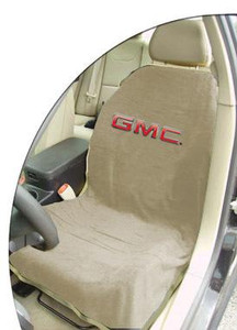 GMC Tan Car Seat Cover Towel