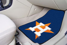 Houston Astros Carpet Floor Mats