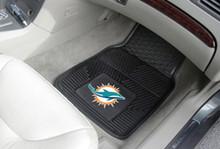Miami Dolphins Vinyl Floor Mats
