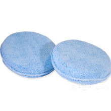 Round Microfiber Applicator Pads
