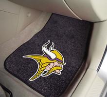 Minnesota Vikings 2-piece Carpeted Floor Mats