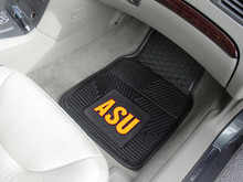 Arizona State Univ. Sun Devils 2-pc Heavy Duty Vinyl Car Floor Mat