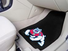Fresno State Bulldogs 2-PC Carpet Floor Mats