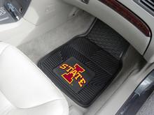 Iowa State University Cyclones 2-pc Heavy Duty Vinyl Car Floor Mat