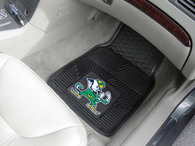 Notre Dame Fighting Irish 2-pc Heavy Duty Vinyl Car Floor Mat