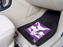 NYU Bobcats 2-PC Carpet Floor Mats