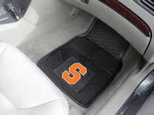Syracuse University Orange 2-pc Heavy Duty Vinyl Car Floor Mat