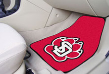 University of South Dakota Carpet Floor Mats