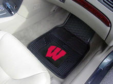 University of Wisconsin Vinyl Floor Mats