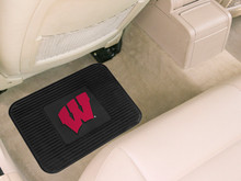 University of Wisconsin Badgers 2-pc Rear Floor Mats