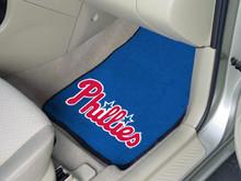 Philadelphia Phillies 2-piece Carpeted Floor Mats