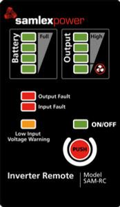 Samlex Remote Control for Samlex SAM Inverters