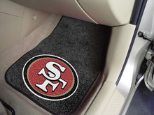 San Francisco 49ers Carpet Floor Mats