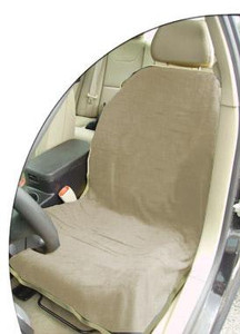 Tan Car Seat Cover Towel Blank