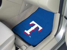 Texas Rangers Carpet Floor Mats