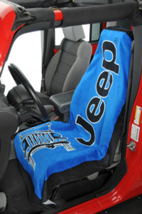 Jeep TOWEL-2-GO Blue Seat Cover Towel