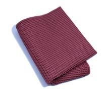 Burgundy Waffle Weave Towel