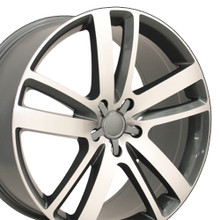 "20"" Fits Audi - Q7 Wheel - Gunmetal 20x9"
