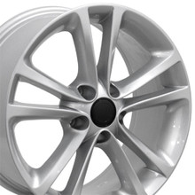 "17"" Fits Volkswagen - CC Wheel - Silver 17x8"