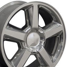 "22"" Fits Chevrolet - Tahoe Wheel - Polished 22x9"
