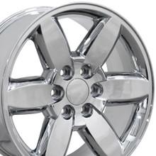 "20"" Fits GMC - Yukon Wheel - Chrome 20x8.5"