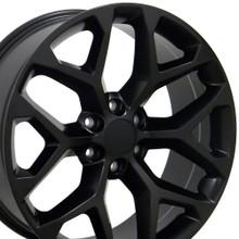 """20"""" Fits GMC - Sierra Wheel - Matte Black 20x9"""