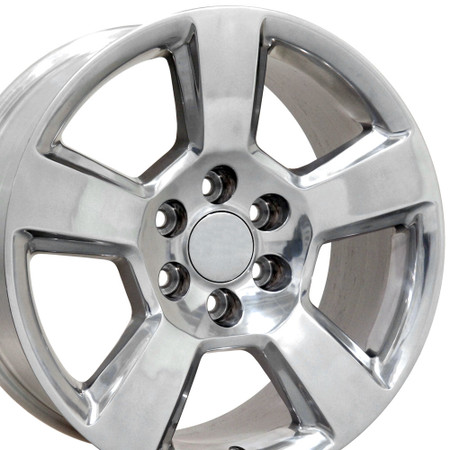 "20"" Fits Chevrolet - Tahoe Wheel - Polished 20x9"
