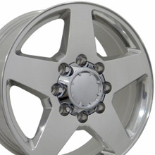 "20"" Fits Chevrolet - Silverado Wheel - Polished 20x8.5"