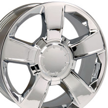 "20"" Fits Chevrolet - Tahoe Wheel - Chrome 20x8.5"
