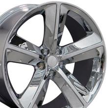 "20"" Fits Dodge - Challenger SRT Wheel - Chrome 20x9"