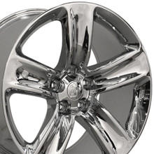 "20"" Fits Jeep - Grand Cherokee SRT Wheel - Chrome 20x9"