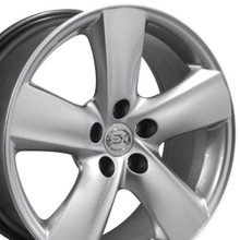 """18"""" Fits Lexus - LS460 Wheel - Hyper Silver 18x8"""