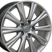 "17"" Fits Lexus - ES350 Wheel - Hyper Silver 17x7"
