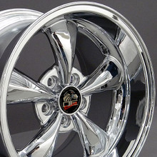 "17"" Fits Ford - Mustang Bullitt Wheel - Chrome 17x10.5"