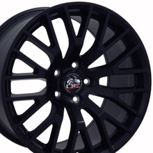 "18"" Fits Ford - 2015 Mustang GT Wheel - Matte Black 18x9"