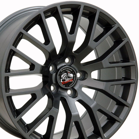 "18"" Fits Ford - 2015 Mustang GT Wheel - Gunmetal 18x9"