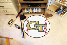 "Georgia Tech Baseball Mat 26"""